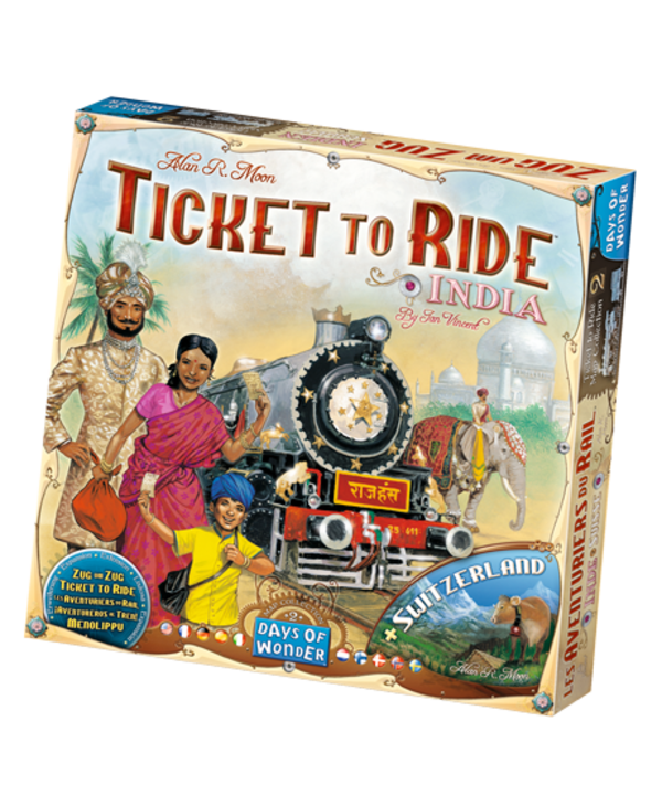 Aventuriers du rail - Inde/Suisse