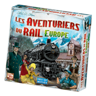 Days of wonder Ticket to ride - Europe (FR)