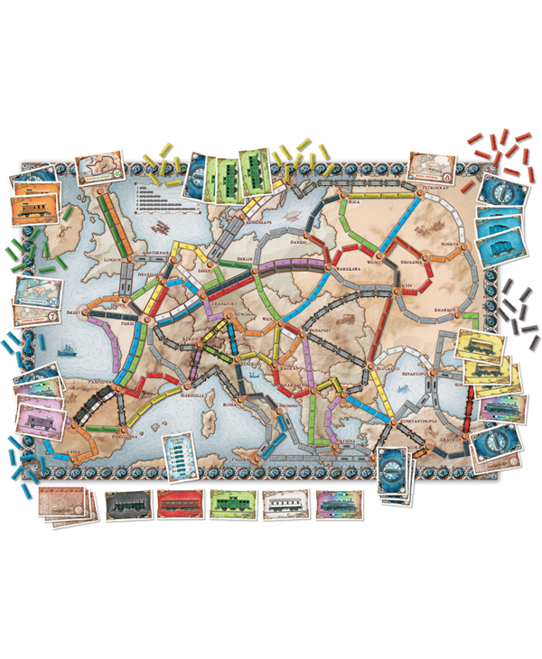Ticket to ride - Europe (FR)