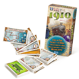 Days of wonder Ticket to ride - USA 1910 (FR)