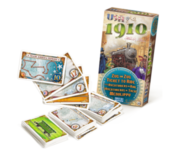 Ticket to ride - USA 1910 (FR)