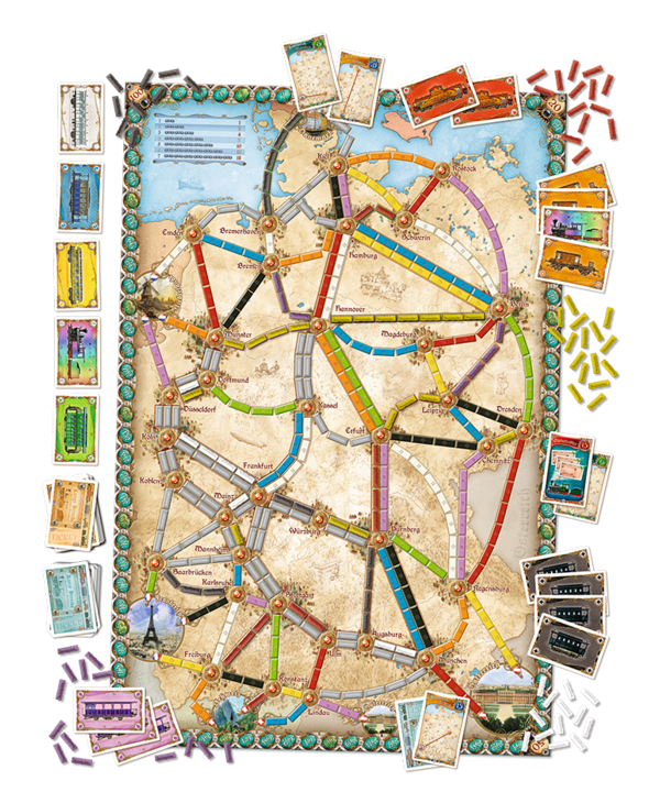Ticket to ride - Germany (FR)