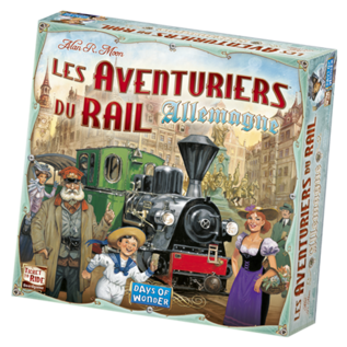 Days of wonder Ticket to ride - Germany (FR)