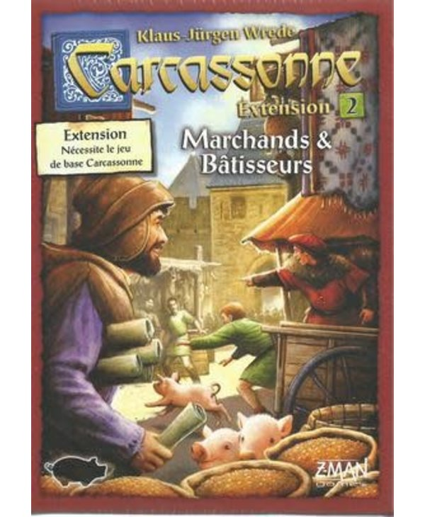 Carcassonne - Traders & Builders (FR)