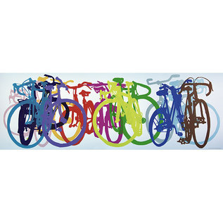 Heye PZ1000P COLOURFUL ROW BIKE ART
