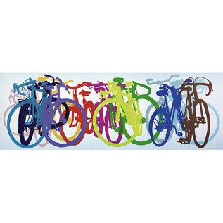Heye PZ1000V Colourful Row, Bike Art
