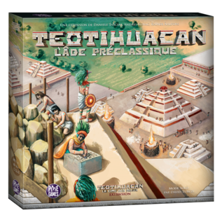 Teotihuacan - Ext. L'age préclassique