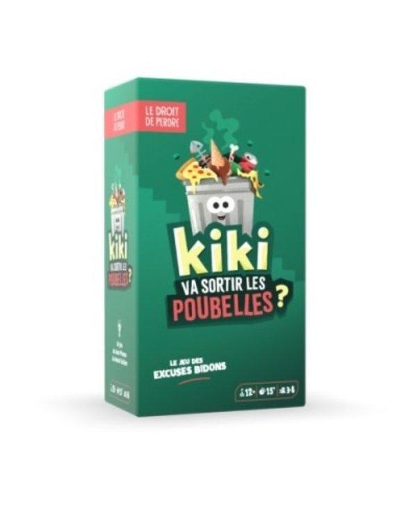 Kiki va sortir les poubelles? (FR)