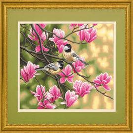 Paintworks Chickadees & Magnolias