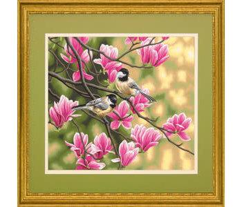 Chickadees & Magnolias