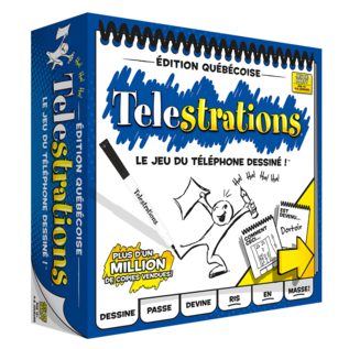 Telestrations - Edition Qc