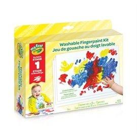 Crayola Jeu de gouache au doigt lavable