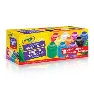 Crayola 10 Gouaches Lavable