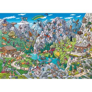 Heye PZ1000 Alpine Fun, Tanck
