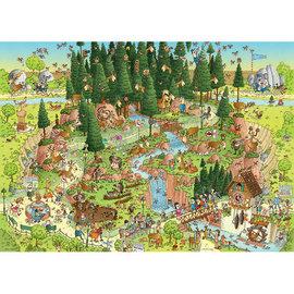 Heye PZ1000 Black Forest Habitat, Funky Zoo