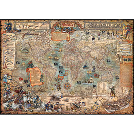 Heye PZ2000 Pirate World, Map Art