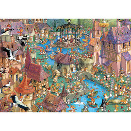 Heye PZ1000 Bunnytown, Ruyer