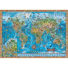 Heye PZ2000 Amazing World, Map Art