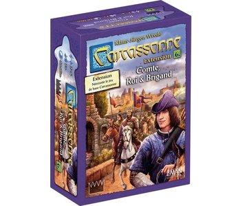 Carcassonne - Ext. Comte, Roi & Brigand (FR)