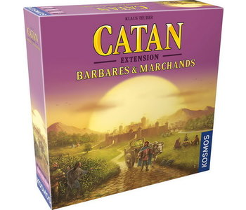 Catan - Ext. Barbares & Marchands