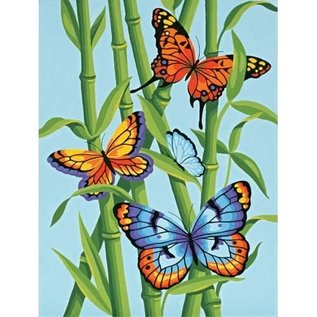 Paintworks Papillons et bambou