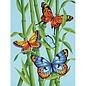Papillons et bambou