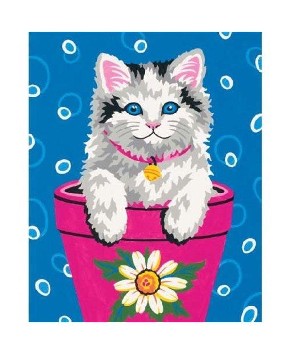 Flower Pot Kitten