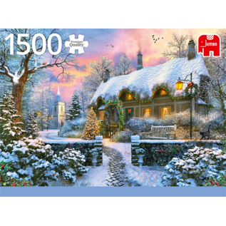 Jumbo PZ1500 Whitesmith's Cottage in winter