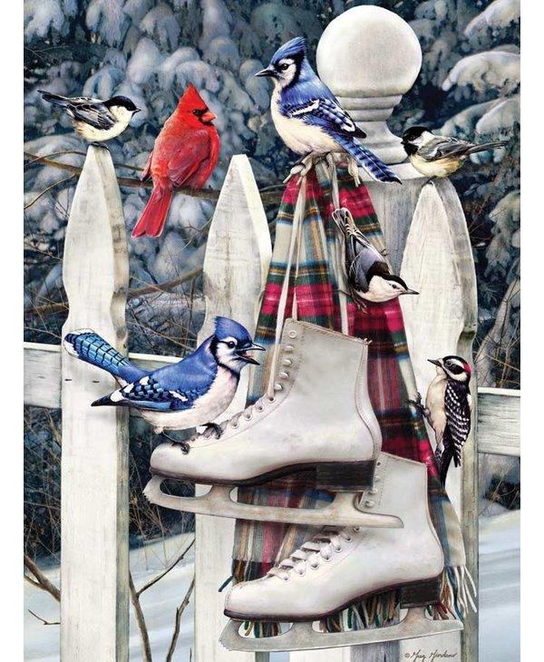 PZ500 Birds with skates