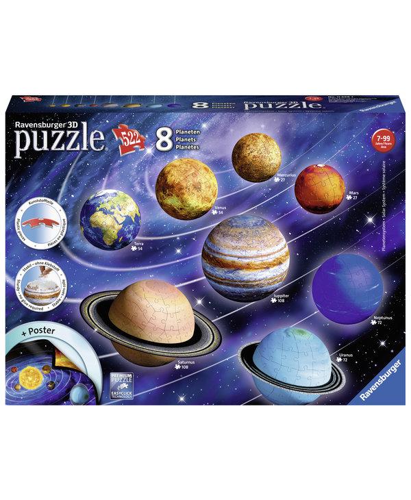 PZ3D Solar System