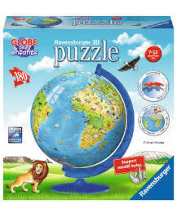 PZ180 Globe Terrestre Enfants (FR)