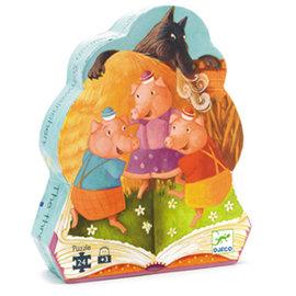 DJECO PZ24 Trois Petits Cochons