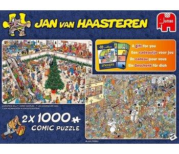 PZ2x1000 Holiday Shopping, JVH