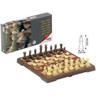 Cayro Magnetic Chess & Checkers Medium