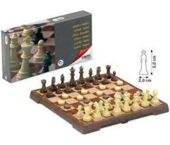 Magnetic Chess & Checkers -Medium