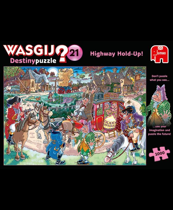 Wasgij Destiny 21 Highway Hold-up!
