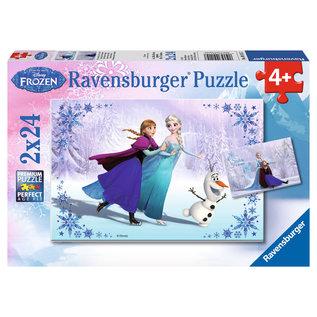 PZ2X24 Soeurs pour toujours Frozen