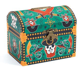 DJECO Tirelire Pirates