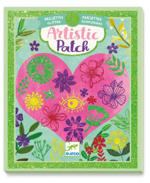 Artistic patch glitter - Petals