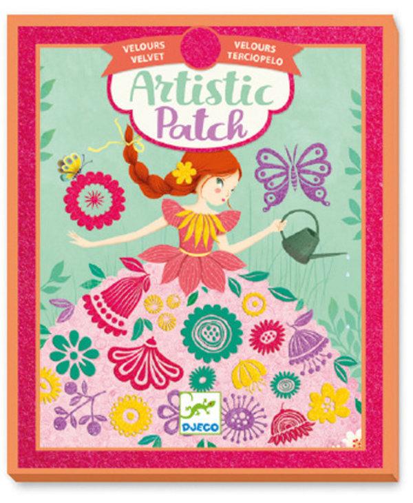 Artistic Patch Velvet - Demoiselles