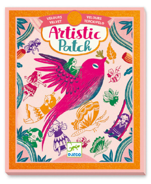 Artistic patch velvet - Recreation