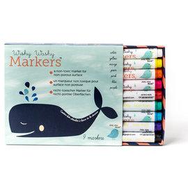 Jaq Jaq Bird Wishy Washy Markers - 9 colors