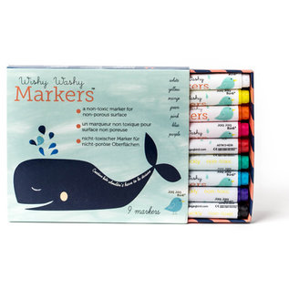 Jaq Jaq Bird Wishy Washy Markers - 9 colors