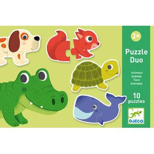 DJECO Puzzle Duo - Animals