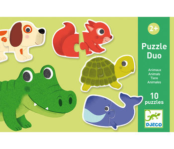 Puzzle Duo - Animaux