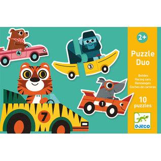 DJECO Puzzle Duo - Bolides