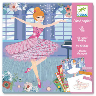 DJECO Iris Paper Folding - Dancers