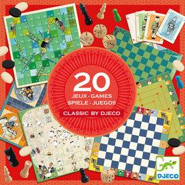 DJECO 20 Classic Games