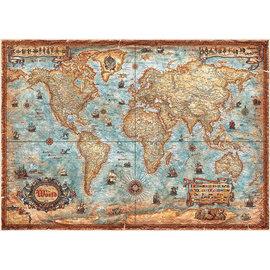 Heye PZ2000 The World, Map Art