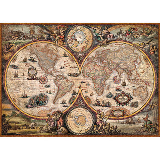 Heye PZ2000 Vintage World, Map Art